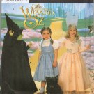 Simplicity 7801 WIZARD OF OZ DOROTHY GLINDA WITCH COSTUMES 3-8