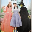 Simplicity 4136 WIZARD OF OZ DOROTHY GLINDA WITCH COSTUMES 14-22 OOP