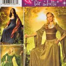 Simplicity 4940 RENAISSANCE MEDIEVAL DRESS GOWN COSTUMES 20-26 OOP