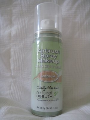 SALLY HANSEN AIRBRUSH SPRAY ON MAKEUP CARMINDY MEDIUM
