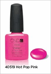 CND Shellac Nail Gel Polish Hot Pop Pink 40519