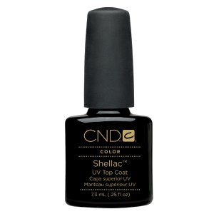CND Shellac Nail Gel Polish UV Top Coat Large size 0.5