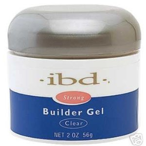 IBD UV Builder Gel Nail Tips BUILDER Clear 2oz/ 56g