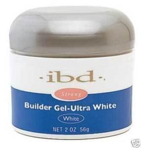 IBD UV Builder Gel Nail Tips BUILDER White 2oz/ 56g