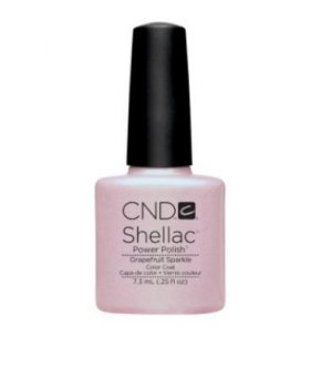 CND Shellac UV Nail Gel Spring Summer Sweet Dreams 2013 Grapefruit Sparkle