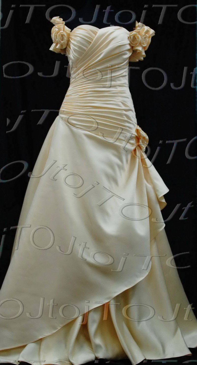 Strapless mermaid evening dress-CH0512