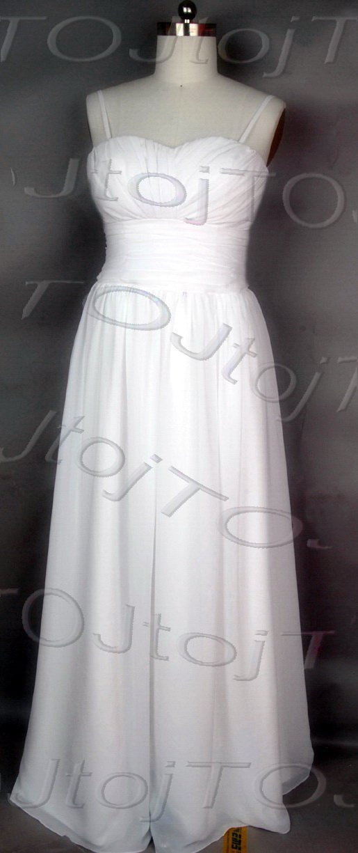 A-line wedding gown-WG883