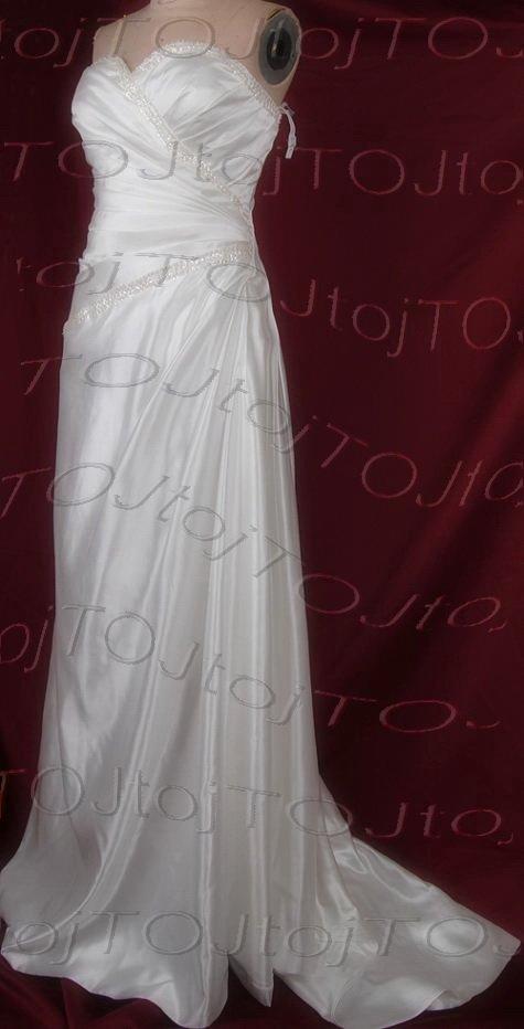 Sweet heart A-line wedding gown-DWG0931