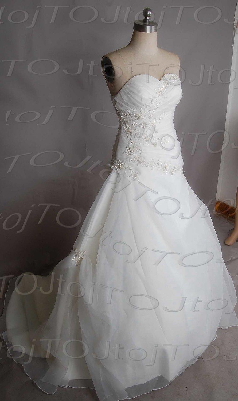 Sweet heart mermaid wedding gown-DWG0896