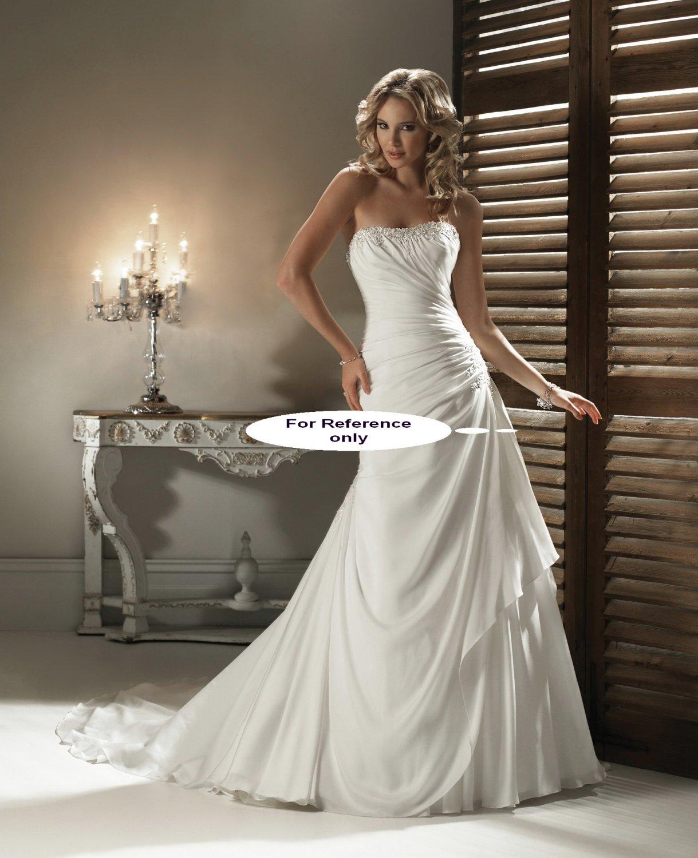 Strapless mermaid wedding gown-1411