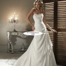 Strapless mermaid wedding gown-1411