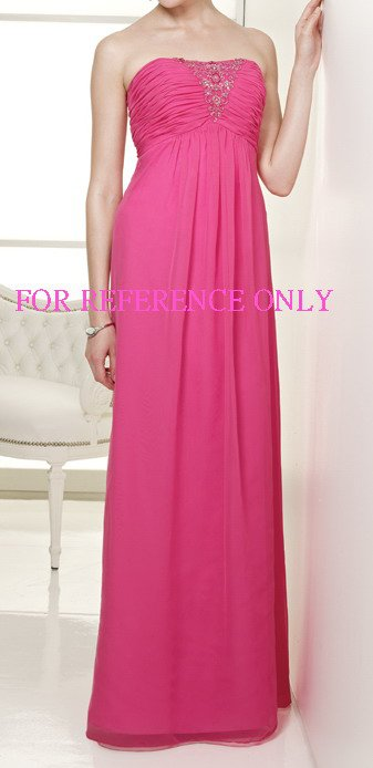 Strapless empire evening dress-ED144