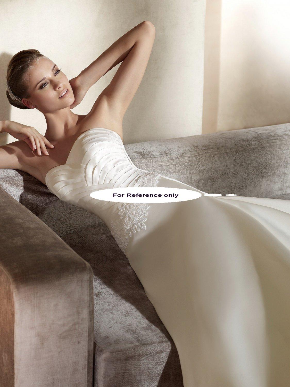 Sweet heart A-line wedding gown-Aliaga
