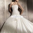 Sweet heart mermaid wedding gown-Paladium