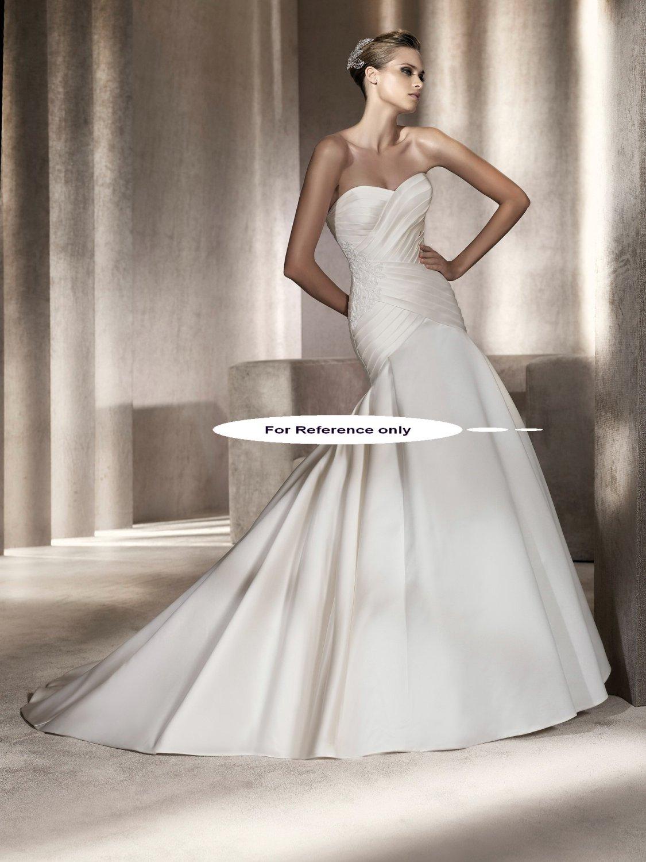 Sweet heart mermaid wedding gown-Pineda
