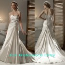 Strapless A-line wedding gown-1406