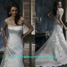 Strapless A-line wedding gown-1372