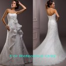 Strapless A-line wedding gown-1360