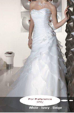 Sweet heart mermaid wedding gown-WG807