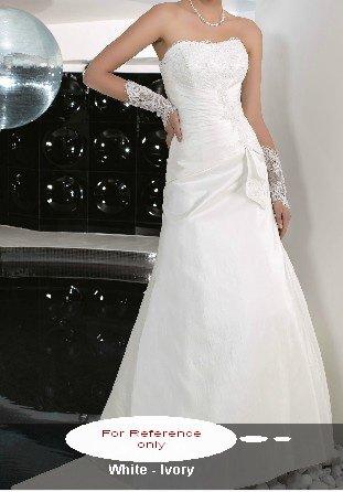 Strapless mermaid wedding gown-WG810