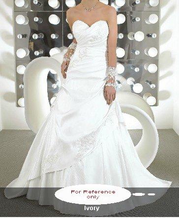 Sweet heart A-line wedding gown-WG811