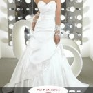 Sweet heart A-line wedding gown-WG811