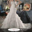 Sweet heart mermaid wedding gown-WG813