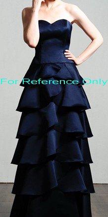Sweet heart A-line evening dress-ED049