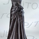 Strapless A-line evening dress-P5521