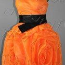 One-shoulder short evening dress-0014