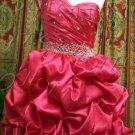 One-shoulder short evening dress-4927