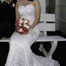 Sweet heart mermaid wedding gown-YWG006