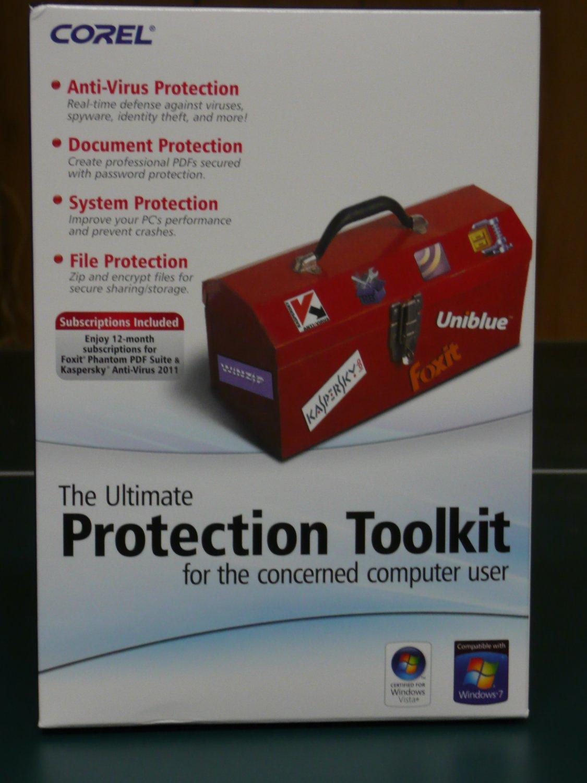 Corel Ultimate Protection Toolkit + Kaspersky Antivirus 2012