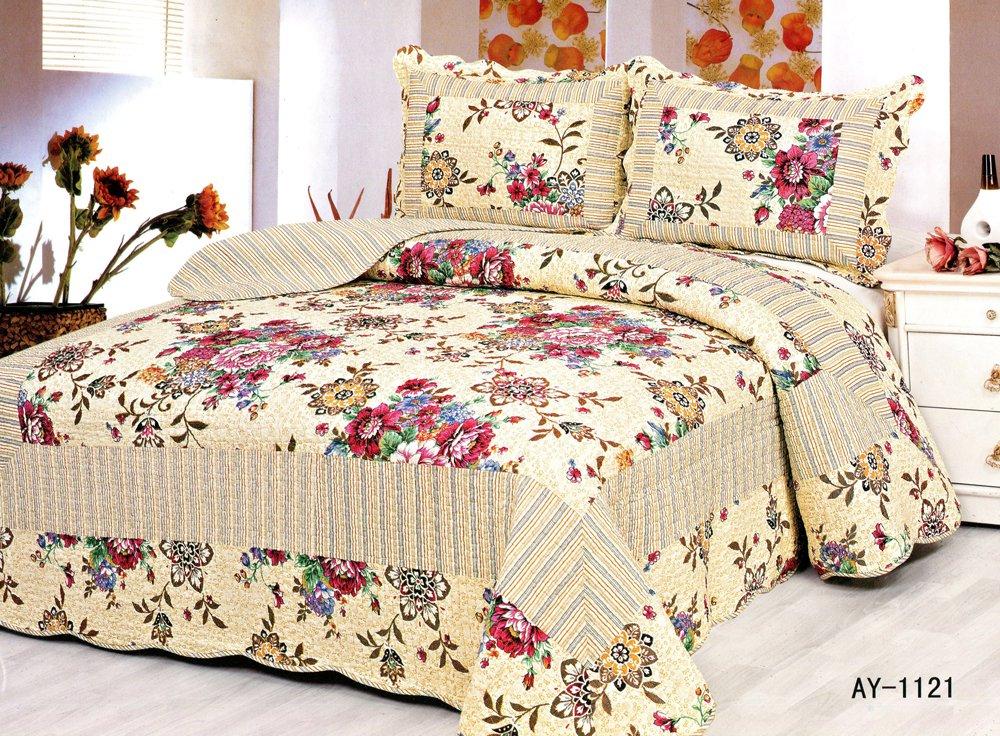 4pcs floral bedding set AY-1121