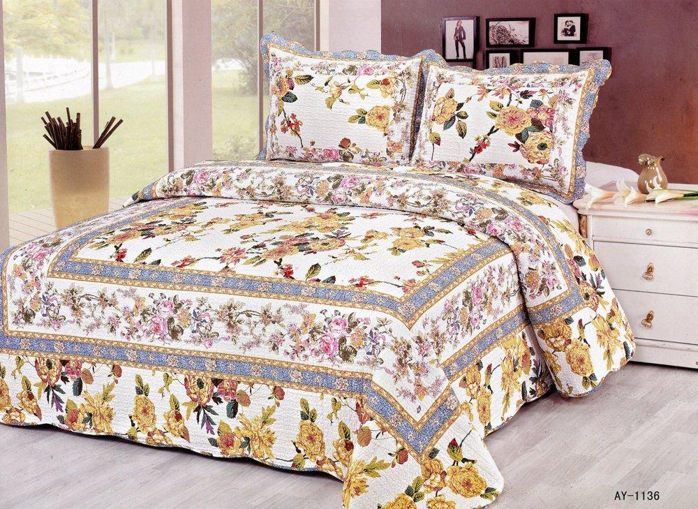 4pcs floral bedding set AY-1136