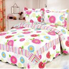 4pcs multi floral bedding set AY-1155