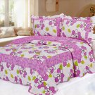 4pcs Ame floral bedding set AY-1157