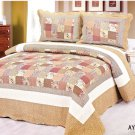 4pcs brown floral bedding set AY-1176