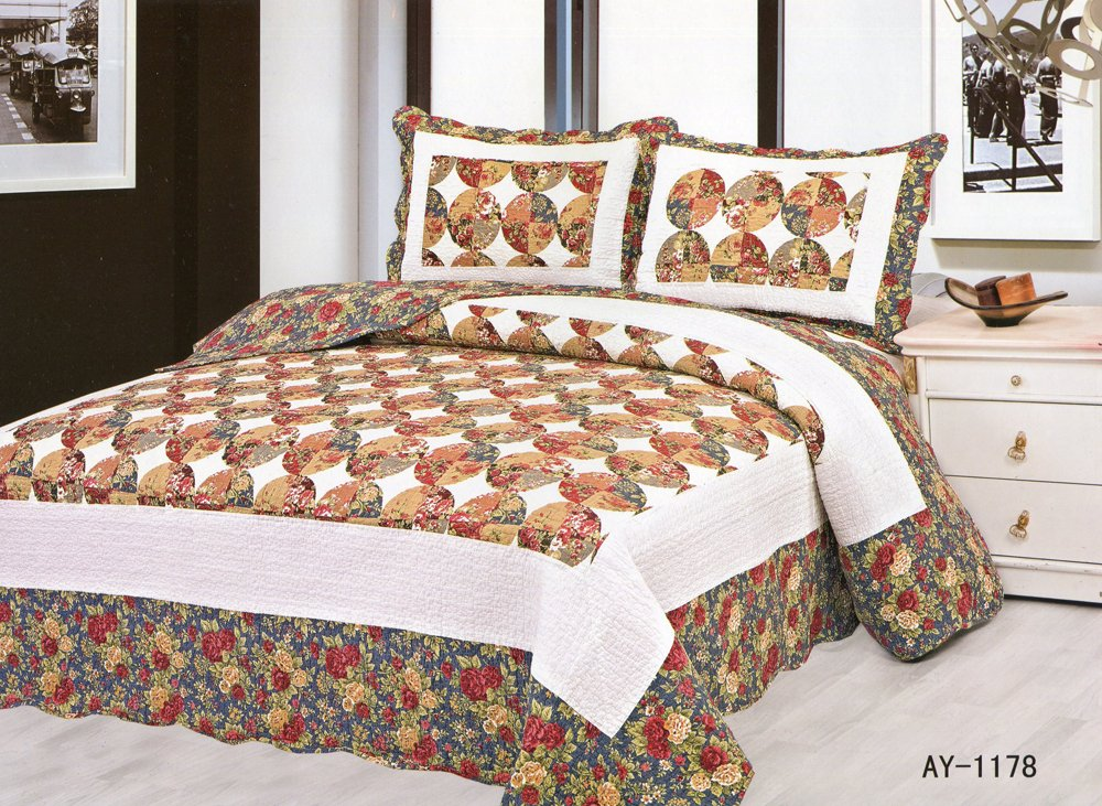 4pcs floral bedding set AY-1178