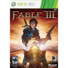 Fable 3 Xbox 360
