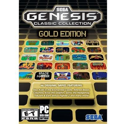 SEGA Genesis Collection Gold Edition PC