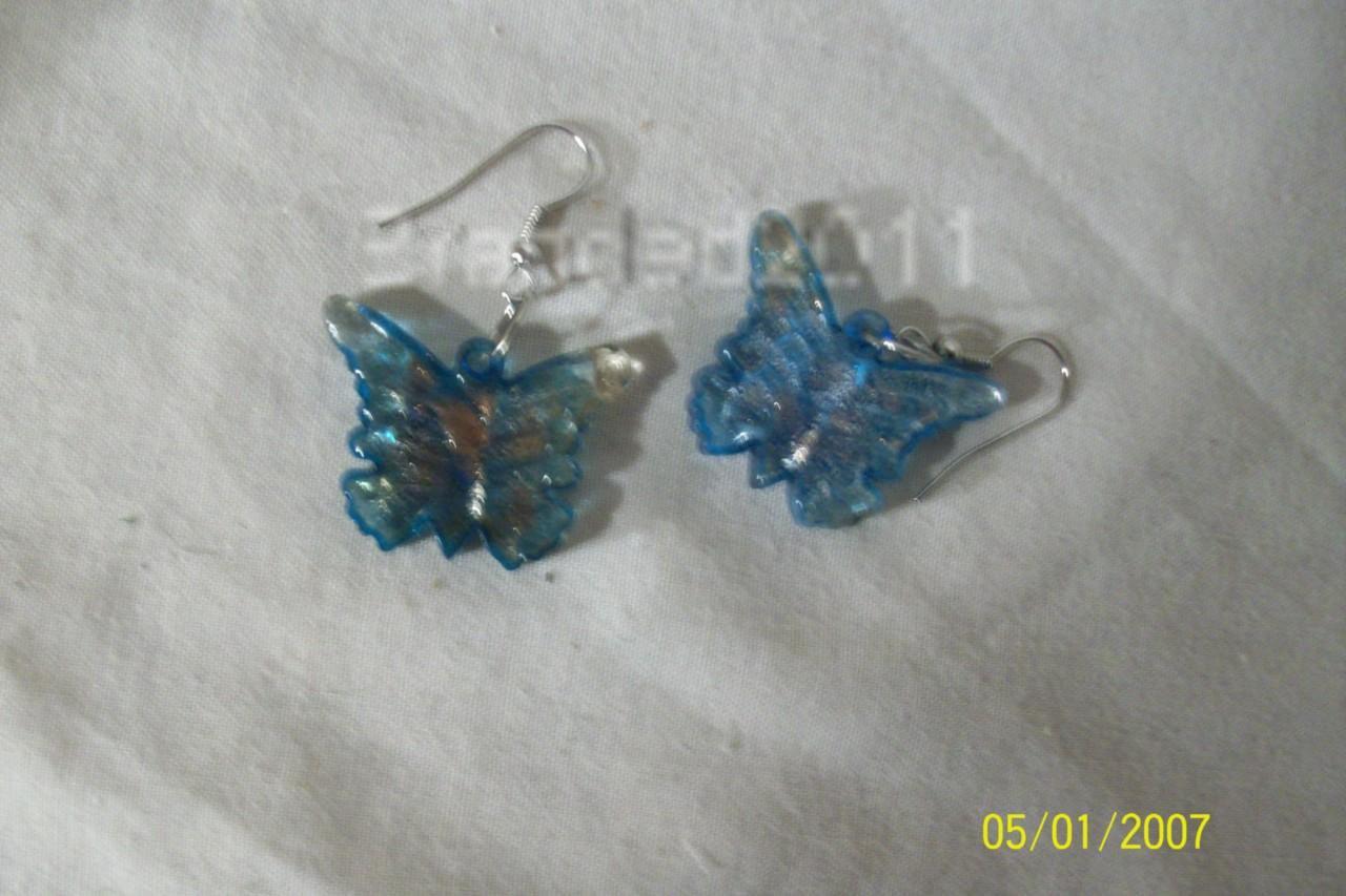 Tibetan Glazed Ear-rings