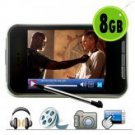 Touchscreen MP4 Player + Video Camera 8GB