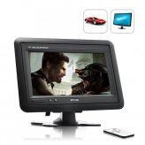 Headrest/Stand In-Car TFT LCD Monitor, 7 inches
