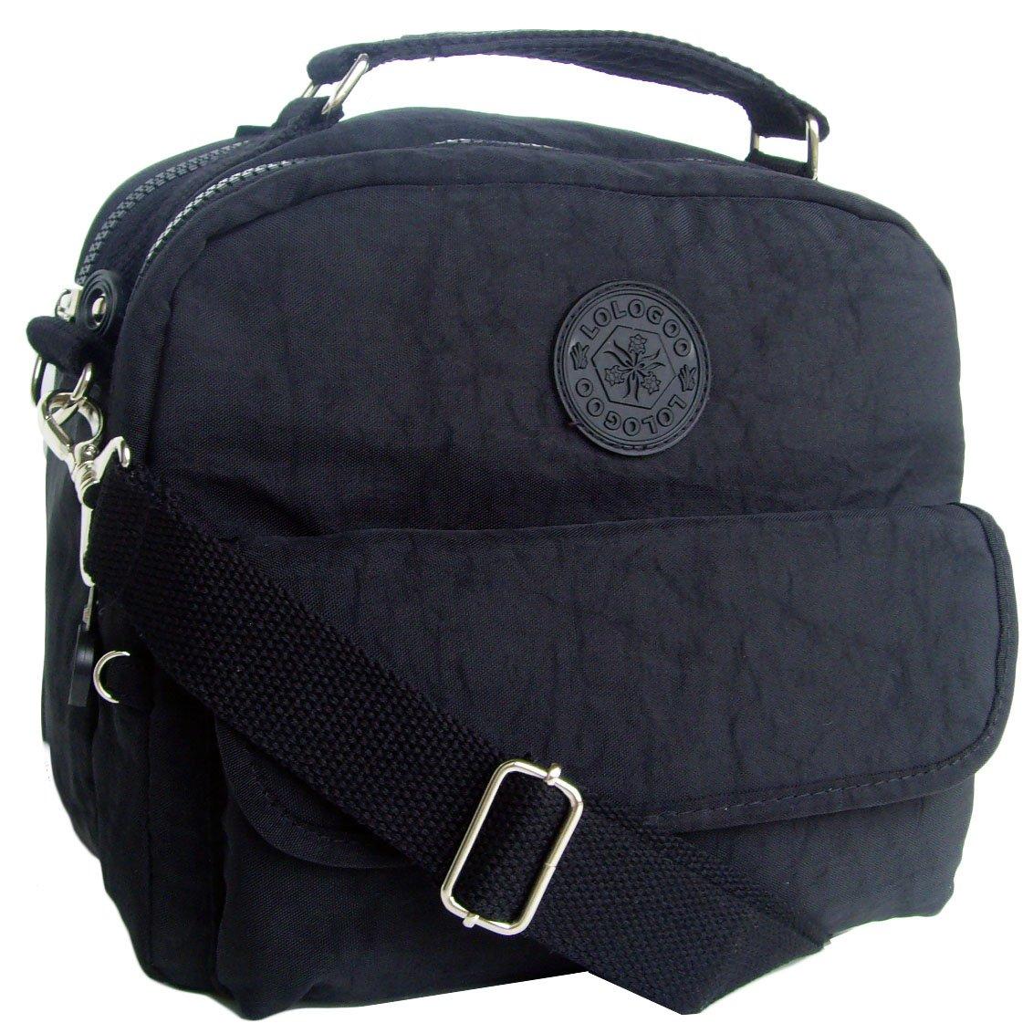 HONG YE Pure Stripe Slouch Bag,sku:hb76black7