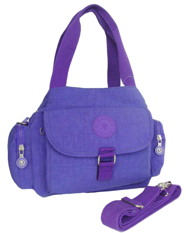 HONG YE Pure Stripe Slouch Bag,sku:hb77blue4