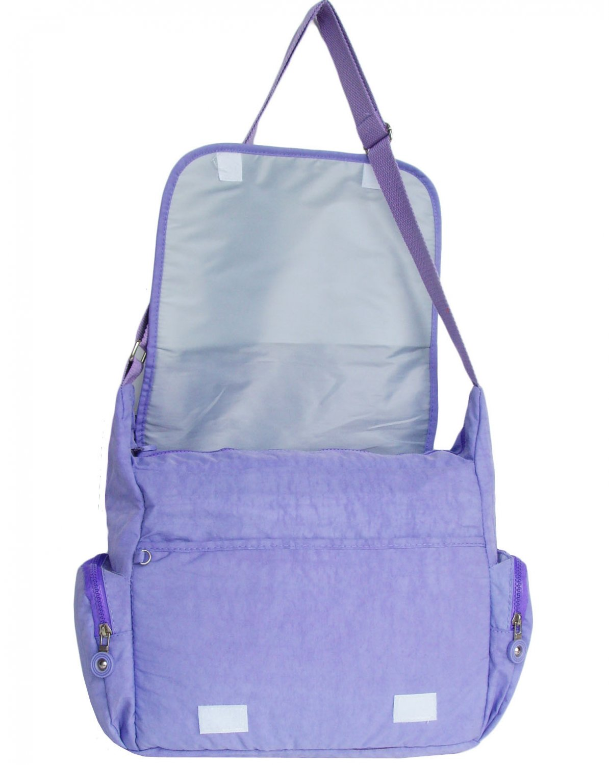 HONG YE Pure Stripe Slouch Bag,sku:hb79purple3