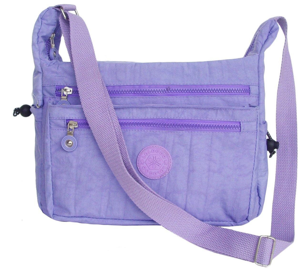 HONG YE Pure Stripe Slouch Bag,sku:hb80purple3