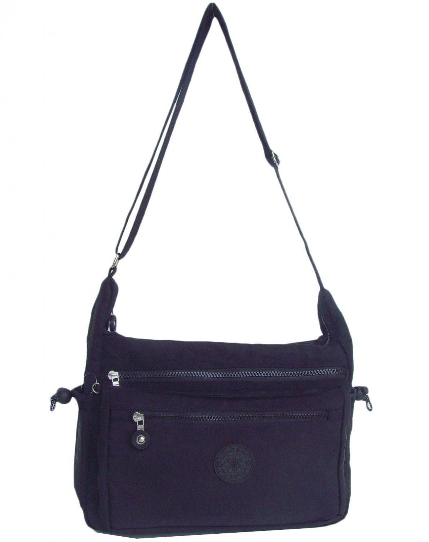 HONG YE Pure Stripe Slouch Bag,sku:hb80black5