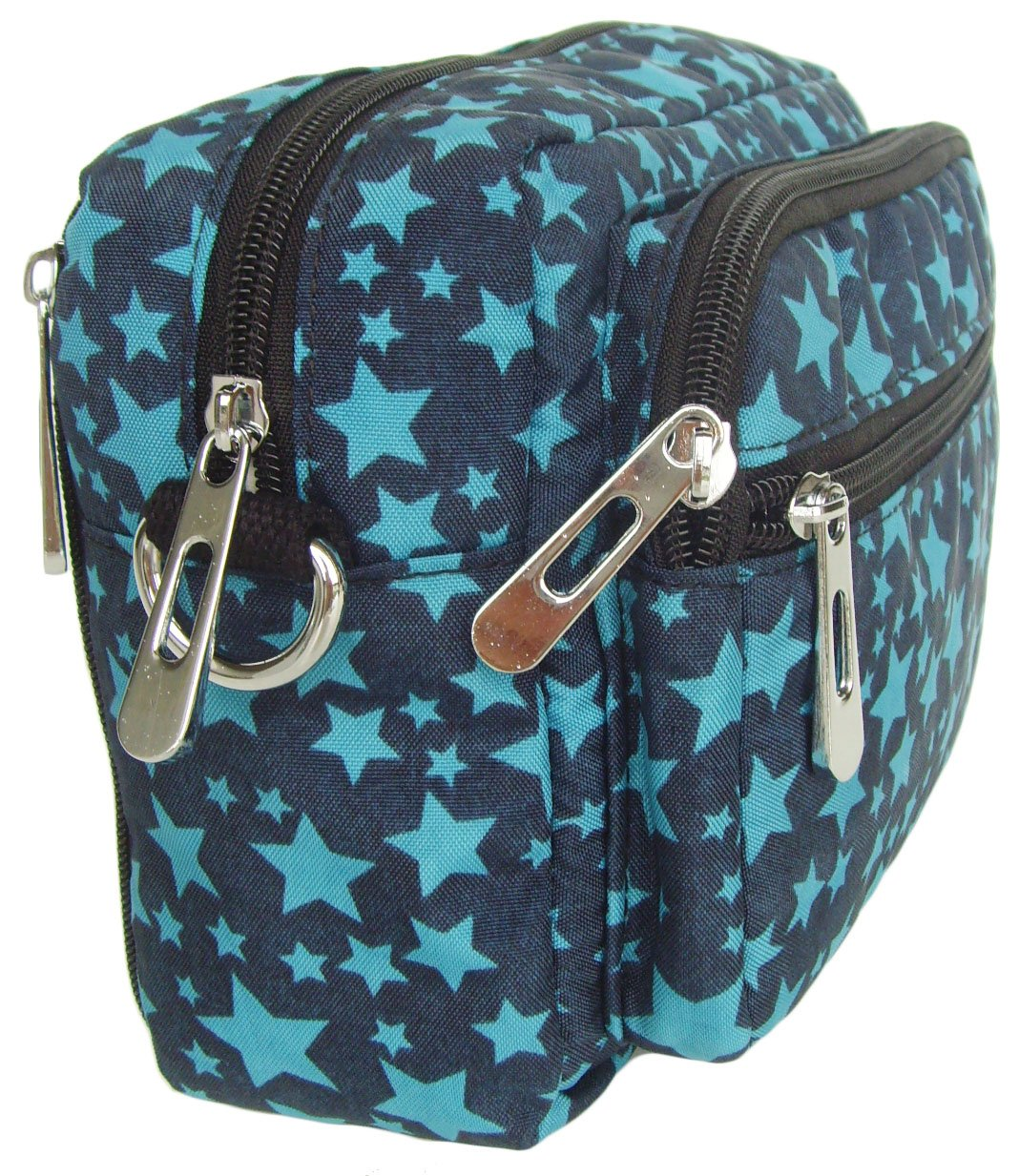 HONG YE Pure Stripe Slouch Bag,sku:hb81blue2